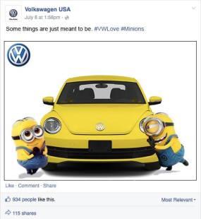 VW Love - Minions