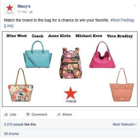 Macy's Bags