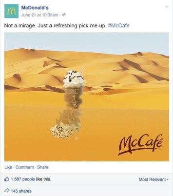 McCafe Mirage