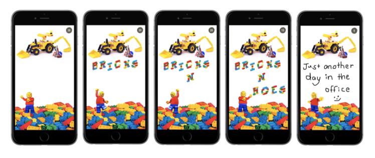 Lego Snapchat comp